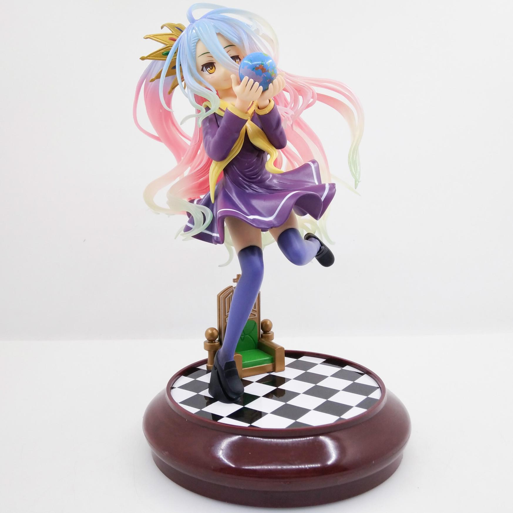 Yotsunoha Heroine 20cm Anime No Game No Life Shiro Game Of Life Painted Second Generation 1/7 Scale Pvc Action Figure ModeYotsunoha Heroine 20cm Anime No Game No Life Shiro Game Of Life Painted Second Generation 1/7 Scale Pvc Action Figure Mode