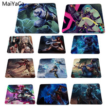 MaiYaCa Cool Game For League of Legends Custom Design Rectangle Gaming Computer Mouse pads 180x220x2mm(China)