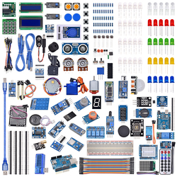 UNO R3 lcd датчик Wifi Bluetooth лазерный Начинающий стартовый набор для Arduino