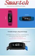 Smartch Smart Band Приборы для измерения артериального давления браслет V07 Смарт-часы браслет сердечного ритма Мониторы SmartBand Беспроводной Фитнес для Android я