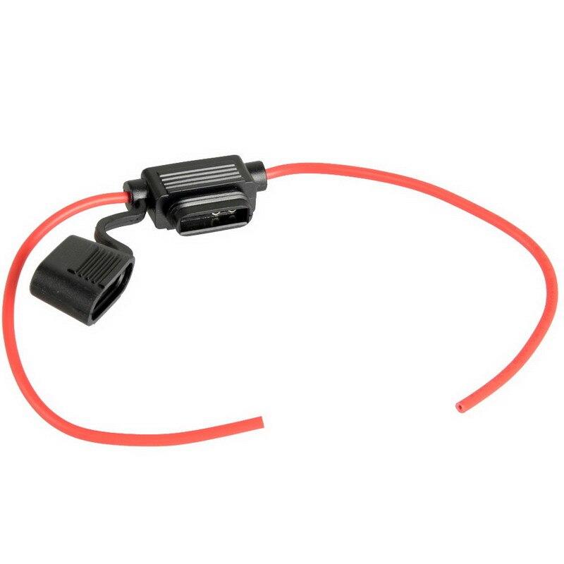 New 1pcs Waterproof small Standard Blade Fuse Holder Fuseholder Car Automotive VE105 P0 3
