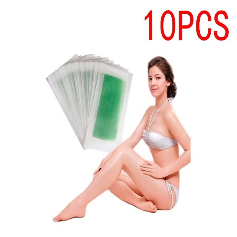 High Quality Depilatory Wax Strip Papersor Face Neck Arm Leg Body Hair Removal Wax Paper Beauty Tools