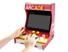 Máquina Arcade para Raspberry Pi 3 Modelo B + 10,1 pulgadas IPS pantalla de alta definición tarjeta SD de 16GB