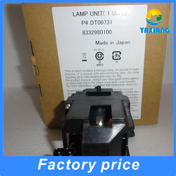 Original with housing DT00731 Projector lamp for Hitachi CP-S240 CP-S245 CP-X250 CP-X255 ED-S8240 ED-X8250 ED-X8255 compatible projector lamp for hitachi dt01151 cp rx79 cp rx82 cp rx93 ed x26