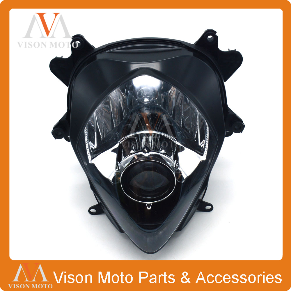 Front Light Headlight Head Lamp For SUZUKI GSXR1000 GSXR 1000 GSX1000R K7 2007 2008 cnc aluminium steering stabilizer damper mounting bracket for suzuki gsxr1000 gsxr 1000 k7 2007 2008