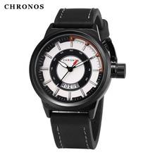 цена Luxury CHRONOS Watch Sports Men Wristwatch Military Male Clock Watches Relogio Masculino Watches Men Montre Homme онлайн в 2017 году