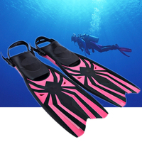Professional Scuba Snorkel Diving Equipment Swimming Fins Adjustable Diving Fins Flippers Men Women Swimming Pool Training