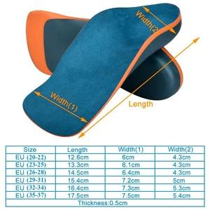 Image 5 - Demine 어린이 정형 안창 Flatfoot Corrector 아치 지원 정형 패드 유아 어린이 신발 패드 발 건강 관리