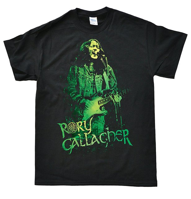 Rory Gallagher 82 T-shirt T-shirt dos homens camisetas da moda