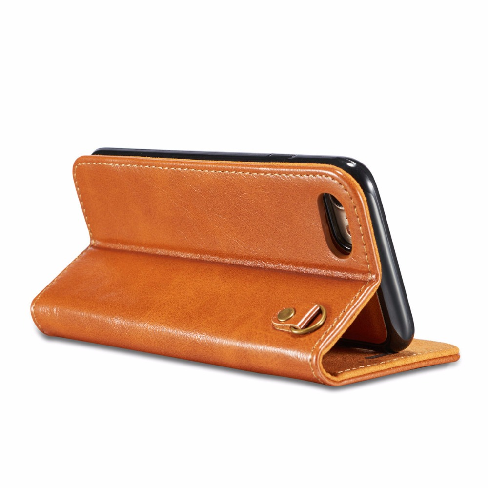 for iphone 5 5s se 6 6S 7 8 plus for iphone X 7plus 8plus iphoneX phone case card pocket luxury leather PU flip cover coque in Flip Cases from Cellphones Telecommunications