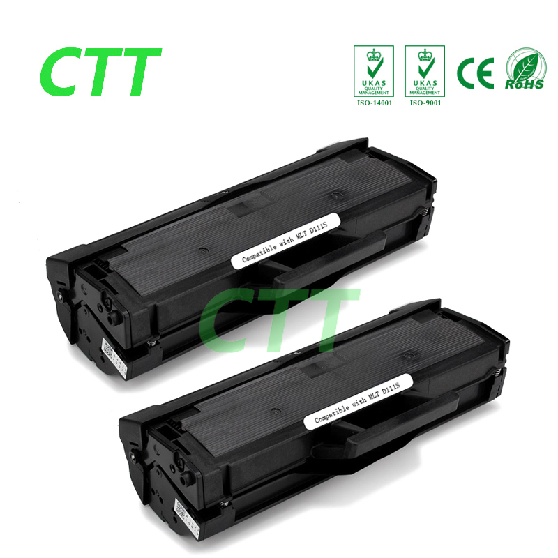 2PCS Compatible toner cartridge For Samsung SA-MLT-D111S SA-ML-D111S MLT D111S M2020 M2020W M2022 M2022W M2070 M2070F M2070FW