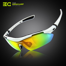 Free Shipping Basecamp 3 Pair of Lens TR90 Frame Great Quality Sunglasses Cycling Bicycle Outdoor Sports Eyewear Glasses
