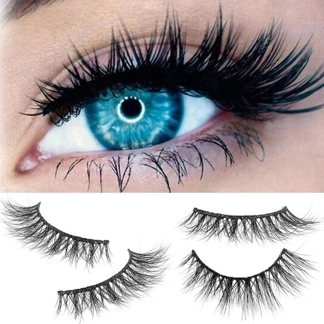 Best Deal New 3d Real Natural Thick False Fake Eyelashes Eye Lashes