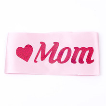 Satin Mom To Be Printed Ribbons for Baby Shower Celebrations