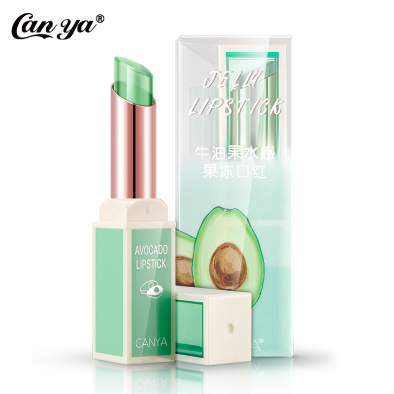 Jelly waterproof Lip Balm long-lasting non-stick cup lip Moisturizer lipstick women changing color plant lipstikcs cosemtic 1