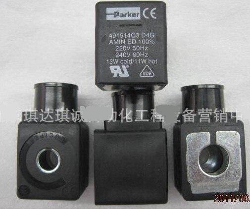 PARKER Lucifer solenoid valve coil 491514Q3 220V 13W