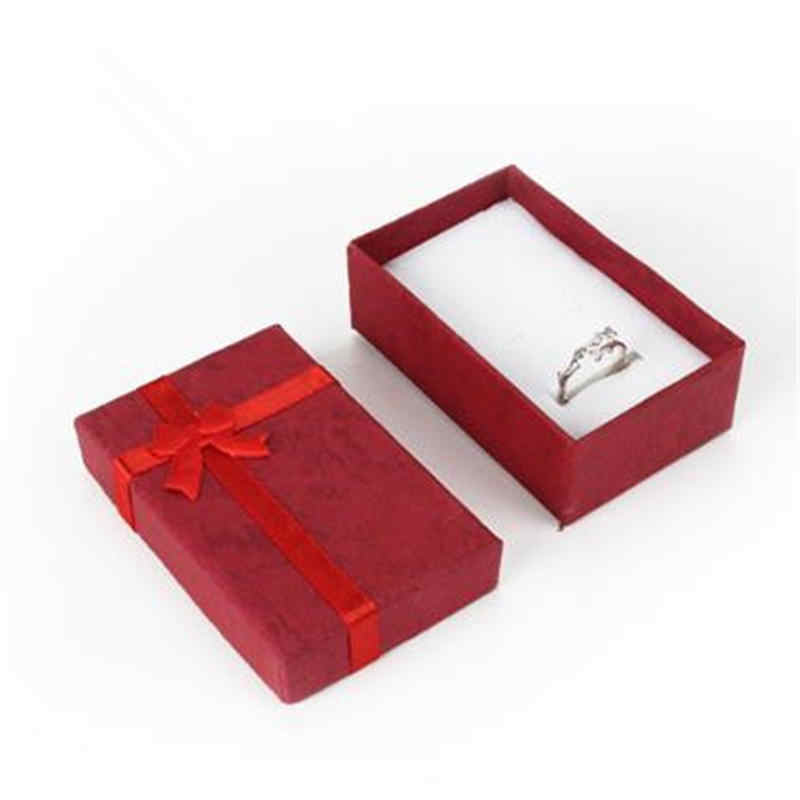 Caja de regalo de joyería romántica, caja colgante, para exhibidor pendientes, collar, anillo, reloj, caja de joyas de belleza