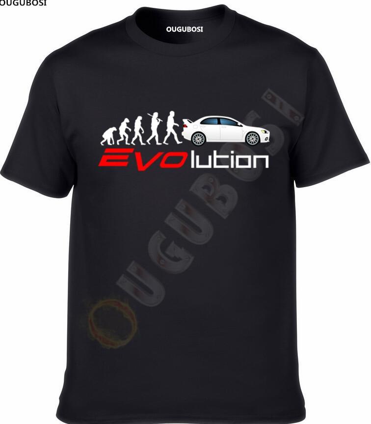 2018 Mitsubishi Lancer EVO IX X XI XII Fan T Shirt T-SHIRT Weihnachtsgeschenk ougubosi