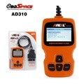 Новое Поступление АНСЕЛЬ AD310 OBD2 Универсальный OBD II Сканер Двигателя Автомобиля Код ошибки Чтения Orange Цвет для 1996 или Новее OBD2 Транспортных Средств
