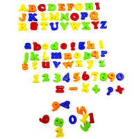 78pcs Magnetic Learning Letters Numbers Refrigerator Magnets Sticker Children Early Educational Toy Intelligence Development Toy