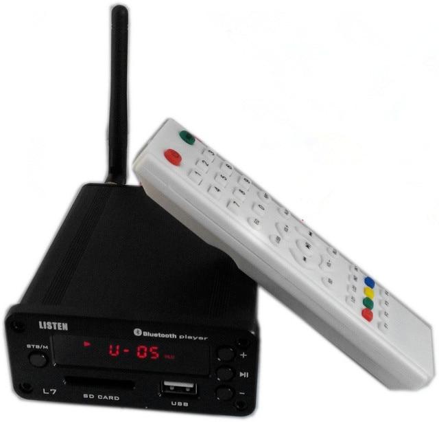 2016 Слушать L7 APE lossless Воспроизведения U-Disk HiFi Bluetooth Декодер ЦАП Усилитель Для Наушников Аудио Amp Предусилитель Дистанционного Управления