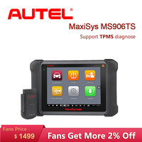 Autel MaxiSys MS906TS OBD2 Auto Diagnostic Tool All System TPMS programming tool Scanner ECU Coding OE level Diagnostic Scanner
