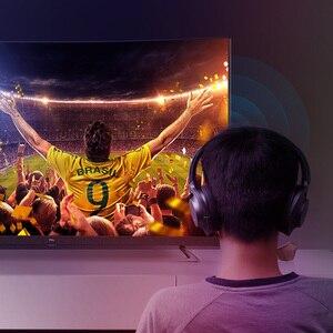 Image 4 - Hagibis جهاز إرسال بلوتوث 5.0 ل سماعات التلفزيون PC APTX 3.5 مللي متر Aux 2in1 بلوتوث استقبال ل رئيس اللاسلكية الصوت التبديل