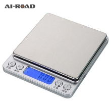 Portable Mini Electronic Digital Scales Pocket Case Postal Kitchen Jewelry Weight Balance Digital Scale 500g x 0 01g kitchen scale portable mini digital pocket electronic case postal jewelry balance 0 01g weight scale with 2 tray
