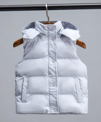 8a9fd18fc1 Nuevo 2018 primavera otoño niños chaleco para Niñas Ropa chaquetas para  niños invierno Chaleco de algodón