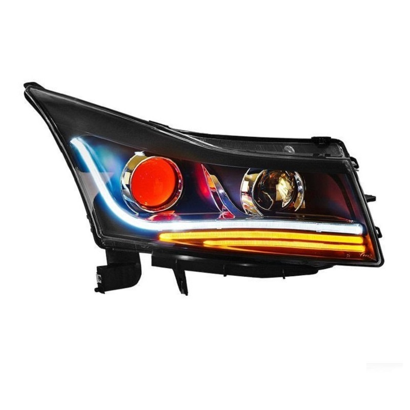 Daytime Running Luces Para Auto Side Turn Signal Automobiles Styling Led Headlights Rear Car Lights Assembly For Chevrolet Cruze rear headlights turn signal automovil assessoires daytime running neblineros para auto styling car led lights for ford fiesta
