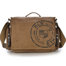 2016 Vintage Men's Messenger Bags Top Watered Canvas Shoulder Bag Fashion Men Business Crossbody Bags Printing Travel Handbag