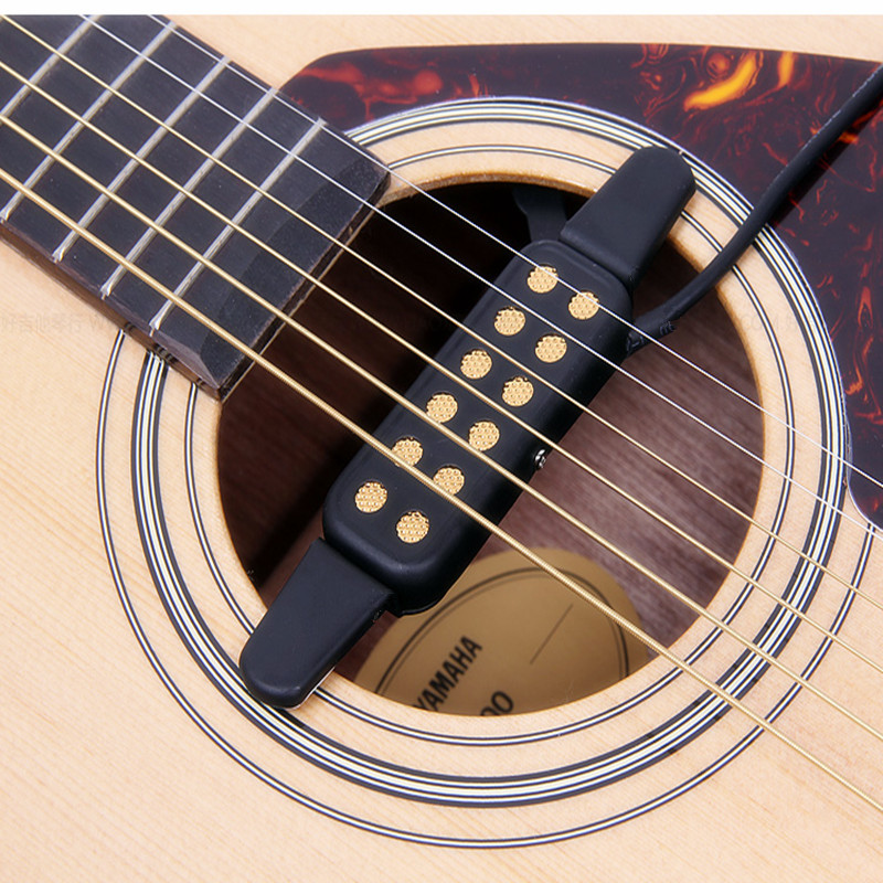 US $9 74 26% OFF|High Quality Acoustic Guitar Pickup Sound Hole Classical  Guitar Pickup Connect Amplifier Pickup Guitar Musical Instruments-in Guitar