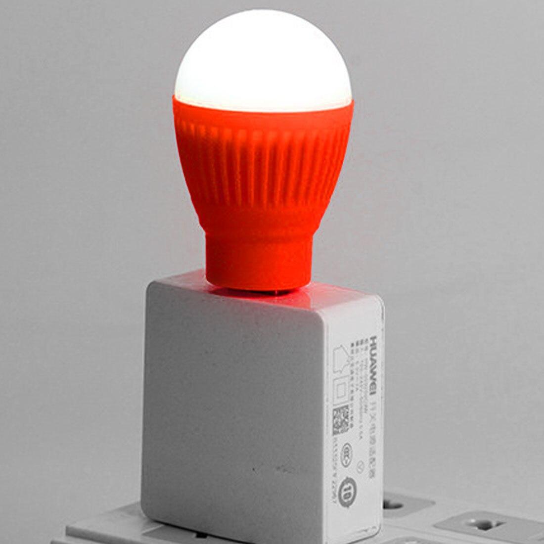 Concienzudo Venta Superior Luz De Noche Mini Bombilla Led Usb Linterna Redonda Al Aire Libre Lámpara De Emergencia Ordenador Portátil Luz De Lectura Ahorro De Energía Distintivo Por Sus Propiedades Tradicionales.