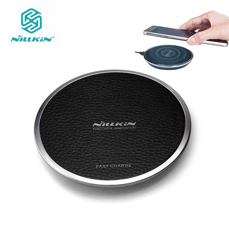 Nillkin QI Wireless Charger for Samsung Note 8 S6 S7 Edge S8 Plus Fast Magic Disk sFor iPhone 8 X Wireless Charger