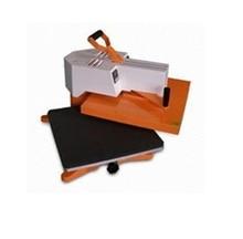 worktable size 38x 38cm semi automatic heat press machine