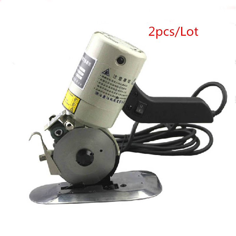 цены 110V/220V YJ-90B 90mm 8 angular Blade Electric Round Knife Cloth Cutter Fabric Cutting Machine Round Knife Cutting Machine 2PCS