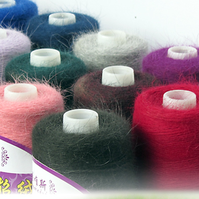 (100G/Roll) High Quality Fall And Winter Mink Cashmere Yarn For Knitting Wool Yarn  Mink Yarn