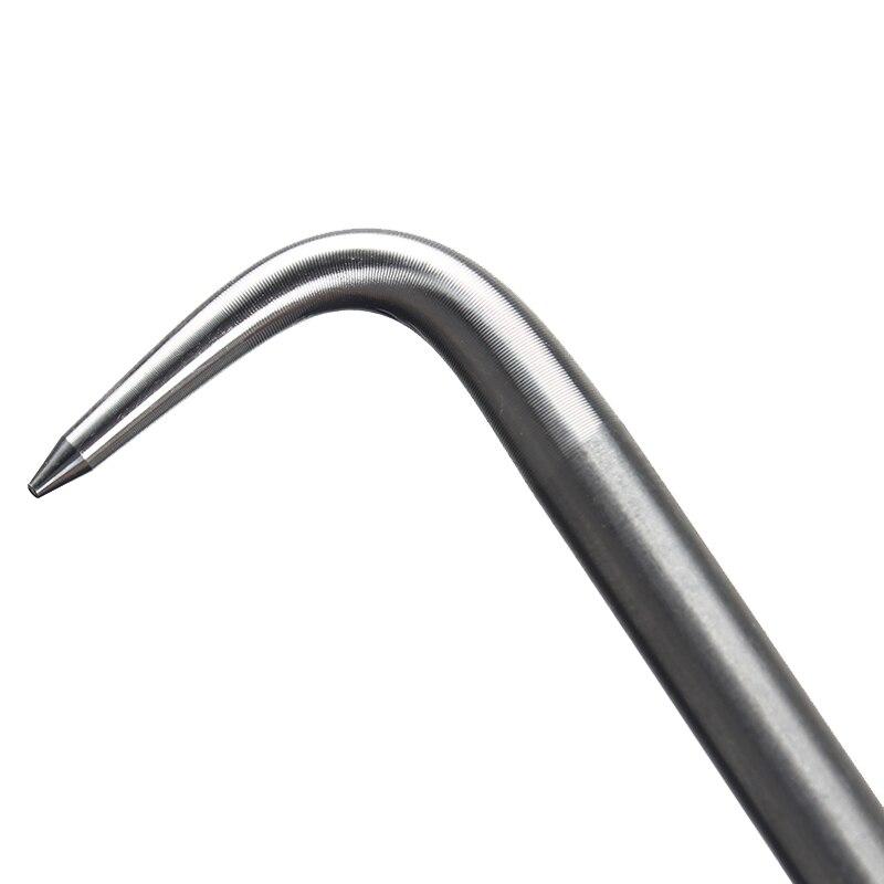 Купить с кэшбэком Construction Rebar Binding Hook Steel Wire Knot Pliers Deformed  Rod Tying Tool