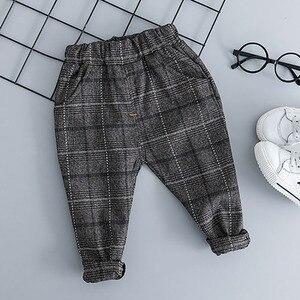Image 5 - Baby Jungen Kleidung Sets Kinder Kleidung Anzüge 2019 Herbst Kinder Gentleman Stil Mäntel T shirt Hosen 3 pcs infant jungen outfits 3 M 3 T