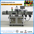 LT-200 Automatic round bottle sticker labeling machine for food industry factory