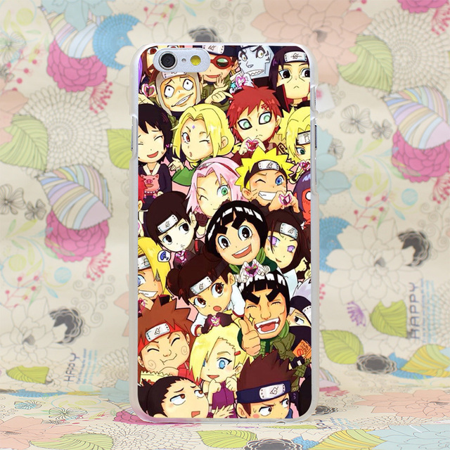 Naruto Characters Case  for iPhone