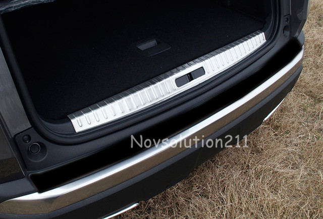 2016 2017 for peugeot 3008 gt car inner rear bumper plate cover trim in roof racks boxes from. Black Bedroom Furniture Sets. Home Design Ideas