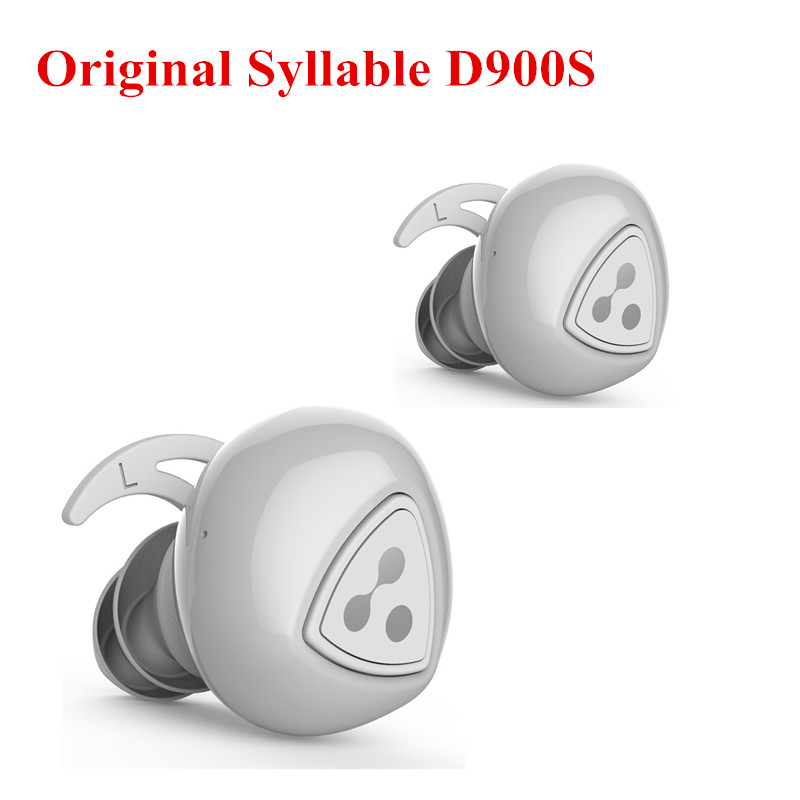 New Upgraded Syllable D900S Wireless Earphone Stereo Sport Bluetooth4.0 Earpiece Active Noise Cancelling Earbuds Waterproof IPX4
