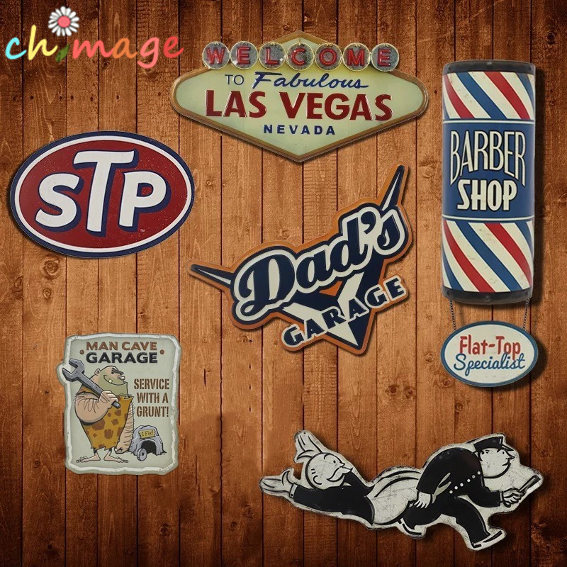 Tidak teratur USA GAYA naungan Vintage Tin Sign plak Bar pub rumah House Cafe Restaurant Wall Decor Retro Logam Art Poster