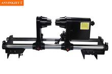 printer paper take up reel system for Roland SJ FJ SC 540 640 740 VP540 Series printer letop solvent printer automatic media take up system 38mm single receiver roll paper