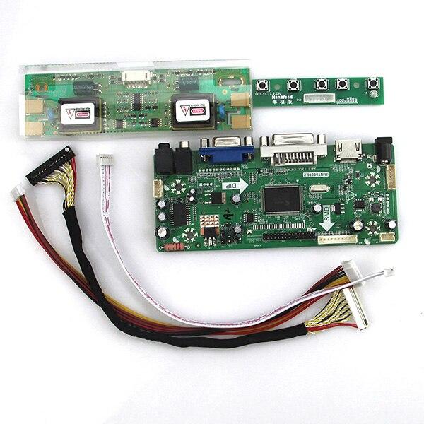 Angemessen M hdmi + Vga + Dvi + Audio Für M190en04 V5 M190eg02 V.4 Lvds Monitor Wiederverwendung Laptop 1280*1024 Nt68676 Lcd/led Controller Driver Board