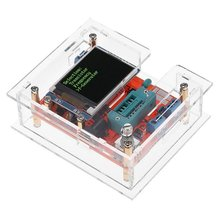 купить GM328 Transistor Tester Multi-use Digital Multimeters Diode Capacitance Voltage Probe Auto Ranging PWM Square Wave Signal Meter дешево