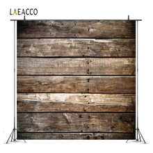 Laeacco Old Wooden Board Plank Portrait Grunge Doll Photography Backgrounds Customized Photographic Backdrops For Photo Studio