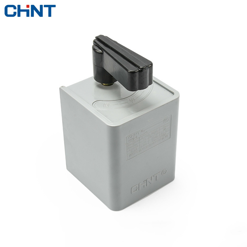 CHINT Down Switch 220V 380V Motor And Face Machine Forward And Reverse Switch HY2-8 2 speed switch used for air damper hvac systems used double composite contact switch forward and reverse motor switch