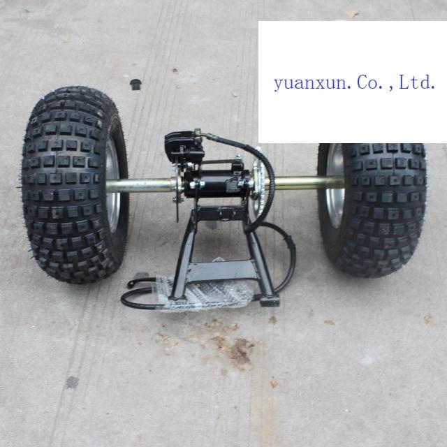 4 Wheeler Rear Axle : Tuning parts atv four wheel drive rear axle with disc